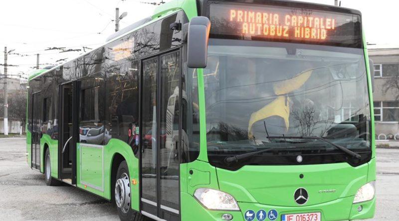 autobuz hibrid pentru bucuresti stb