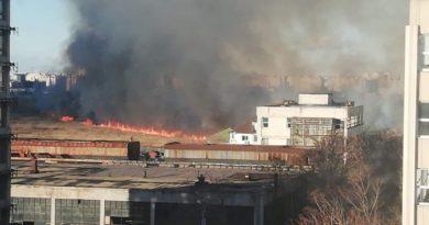 incendiu delta vacaresti azi