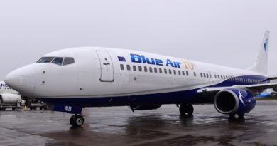 blue air avion
