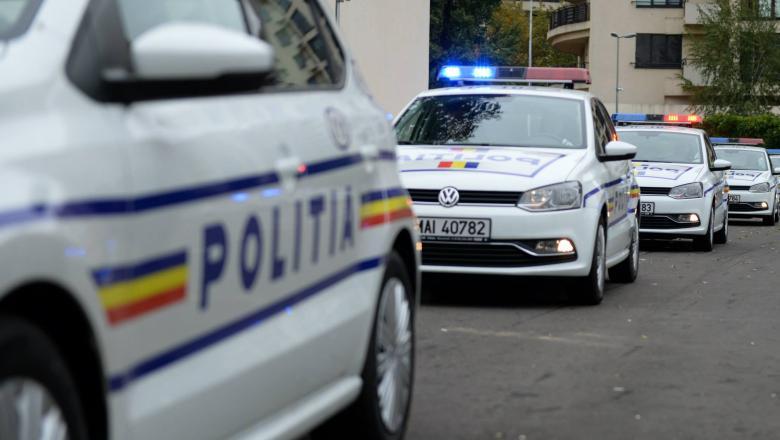 masina de politie romana