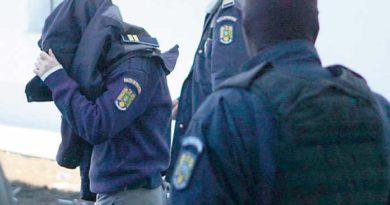 agent de politie drogat retinut de politie