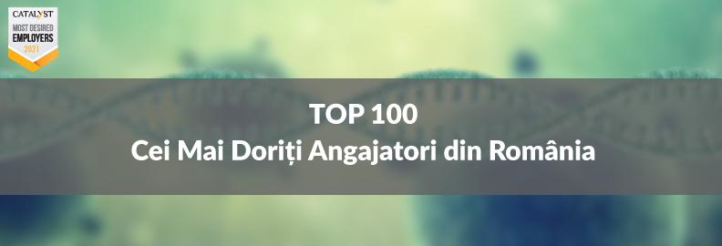Top 100 Cei Mai Doriți Angajatori din România în 2021 – stabiliți de peste 14.000 de respondenți